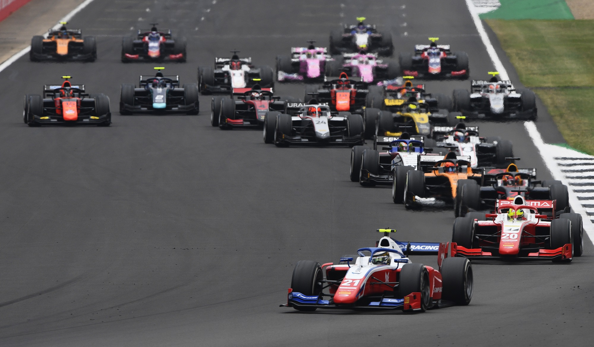Formula 2 Championship - Round 5:Silverstone - Sprint Race