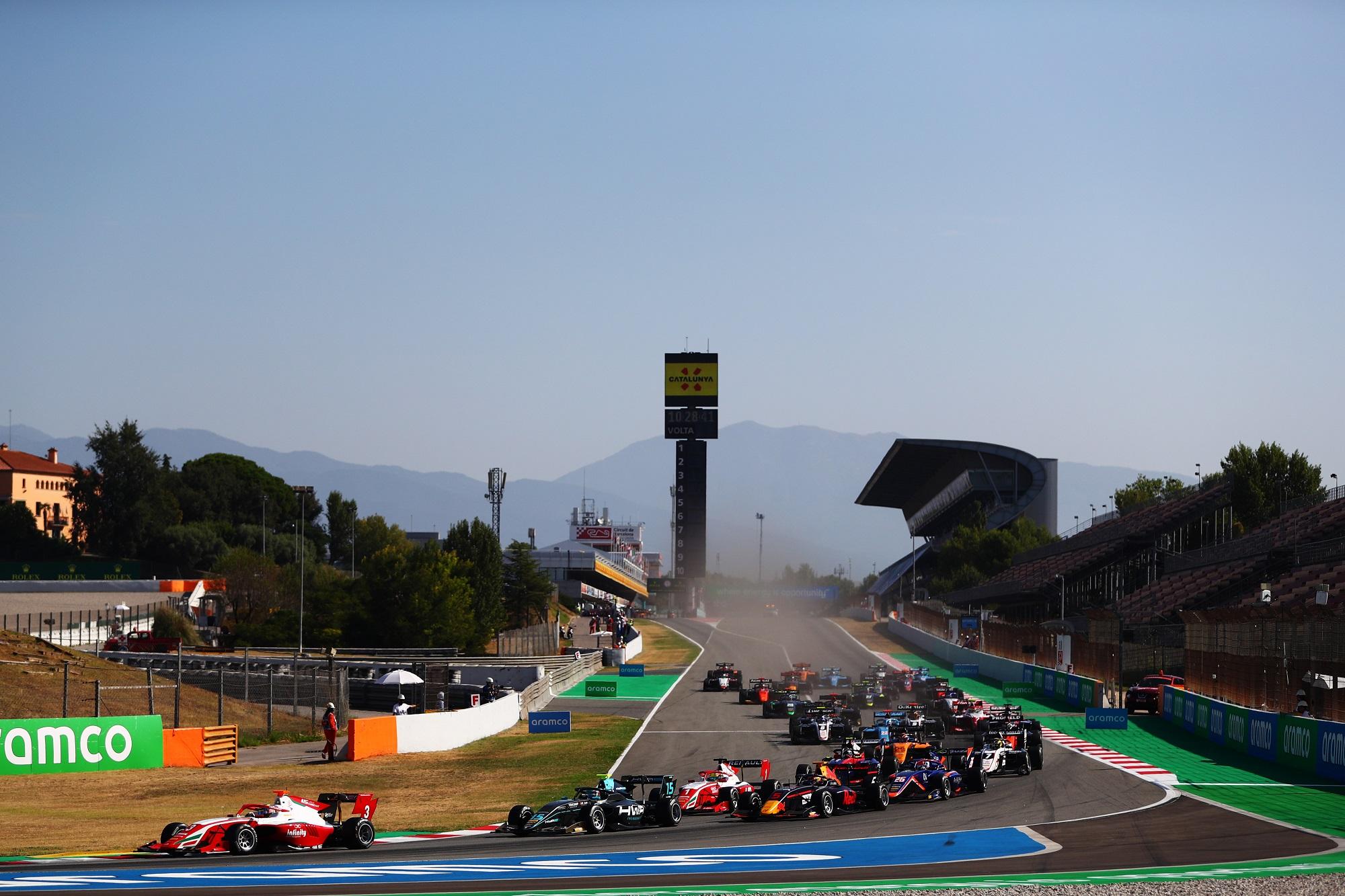 Formula 3 Championship - Round 6:Barcelona - First Race